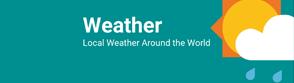 현지 날씨 정보